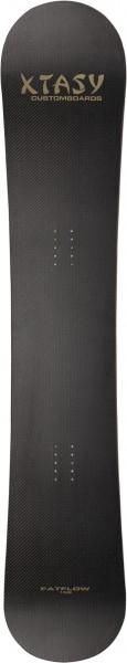 freerideboard / carve XTASY fatflow 166 carbon soft