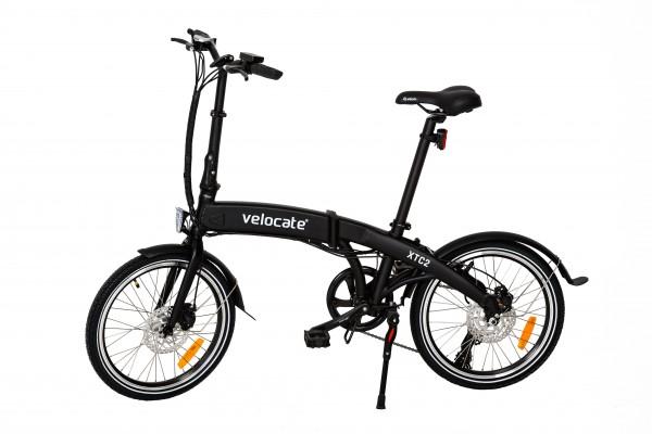 Faltbares E-Bike VELOCATE XTC 2 schwarz