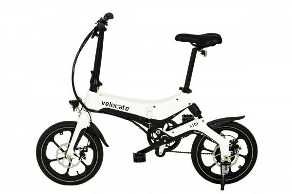 Faltbares E-Bike VELOCATE XTC1 weiß
