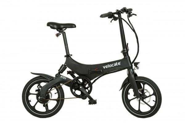 Faltbares E-Bike VELOCATE XTC1 schwarz