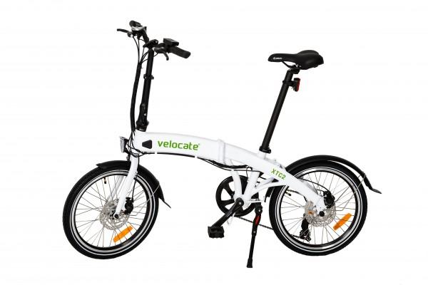 Faltbares E-Bike VELOCATE XTC 2 weiss