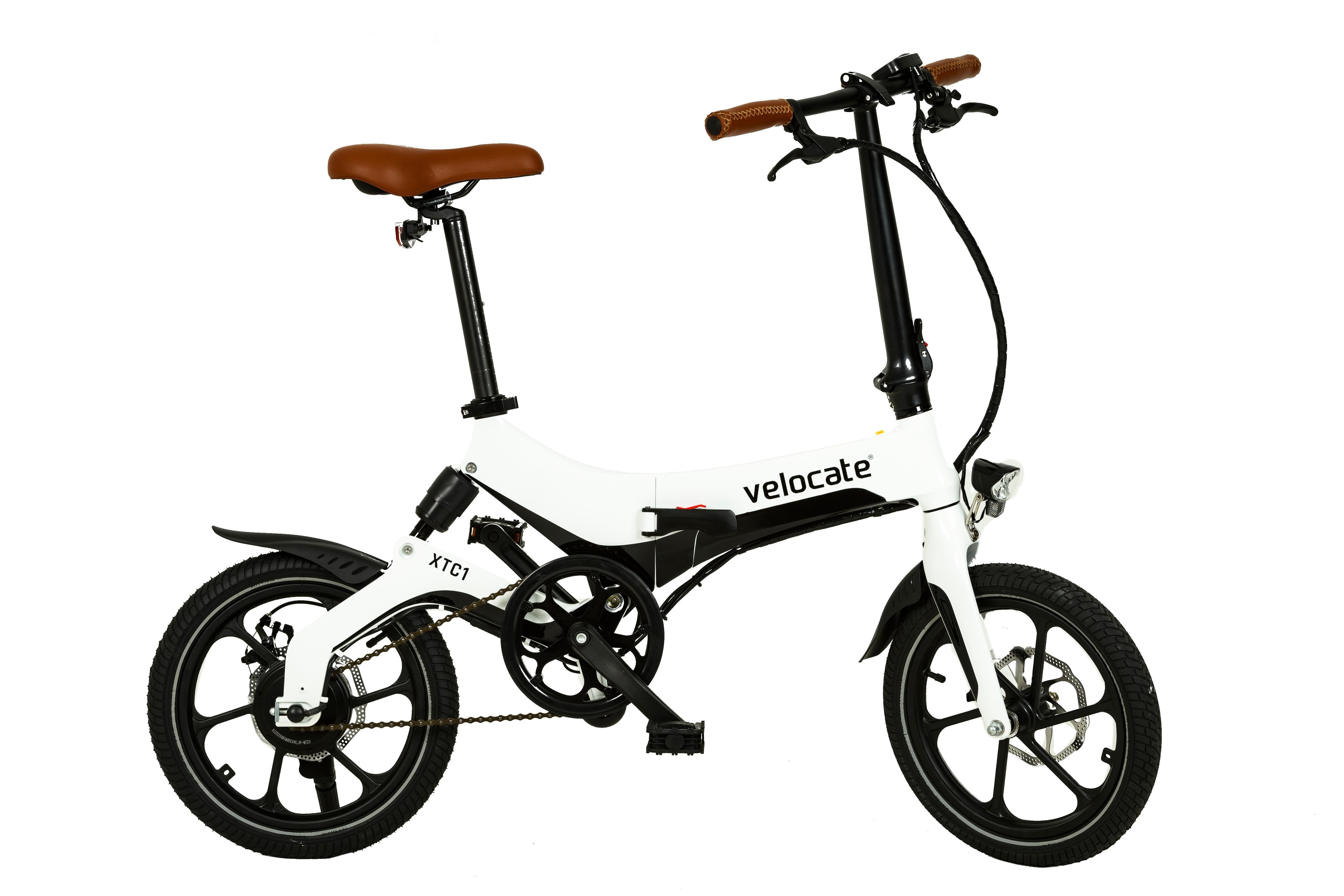faltbares e bike velocate xtc1 wei e mobilit t xtasy. Black Bedroom Furniture Sets. Home Design Ideas