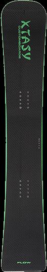 Raceboard / Alpinboard XTASY flow 144 carbon